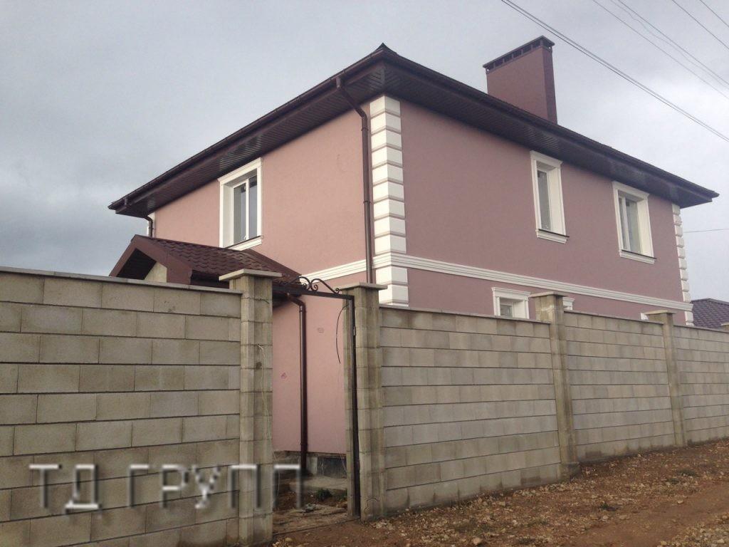 строительство домов из ракушняка